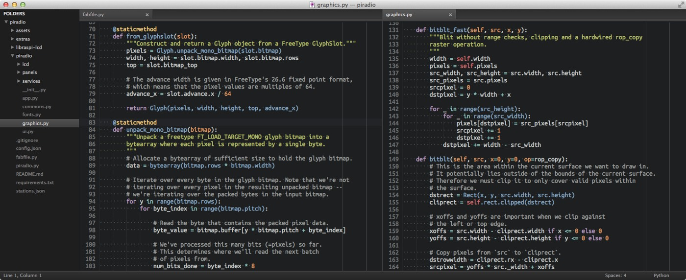 My Sublime Text setup