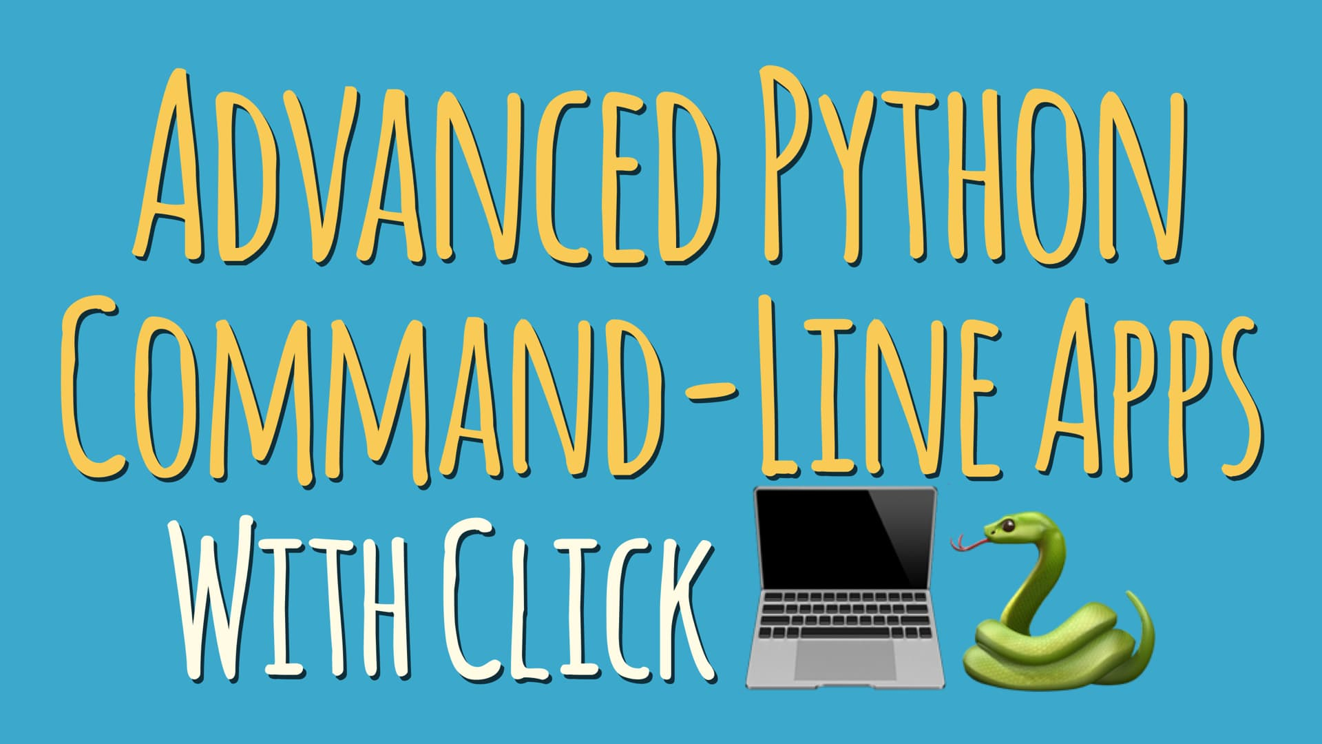 Mastering Click: Writing Advanced Python Command-Line Apps