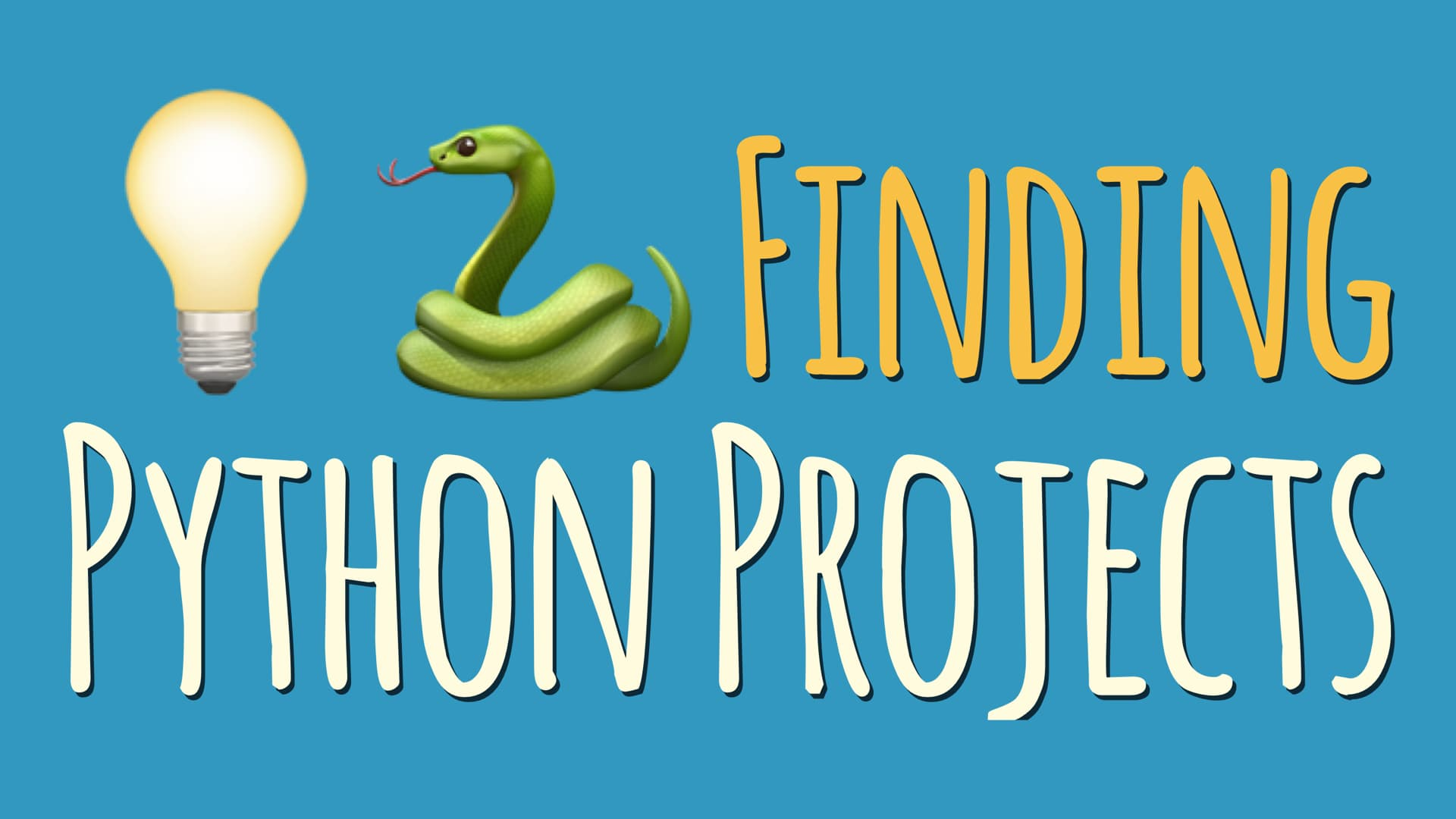Finding Python Projects to Grow Your Programming Skills