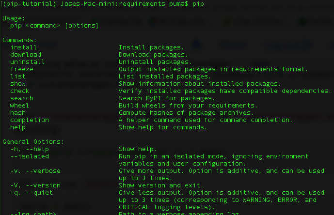 How to Install and Uninstall Python Packages Using Pip