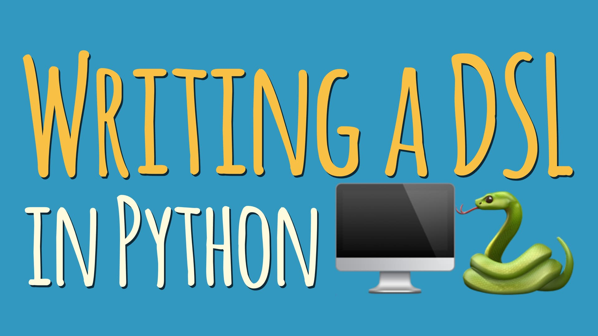 Writing a Domain Specific Language (DSL) in Python
