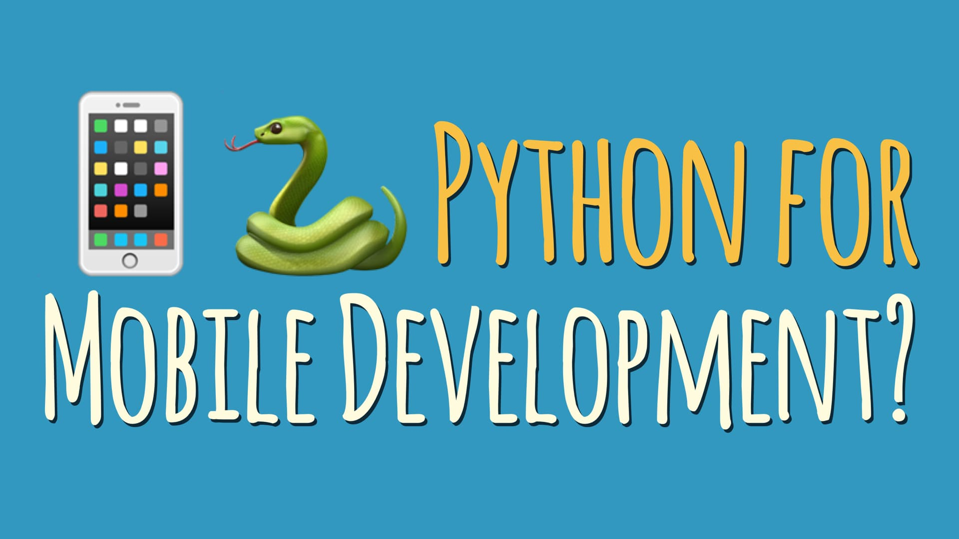 Using Python for Mobile Development: Kivy vs BeeWare