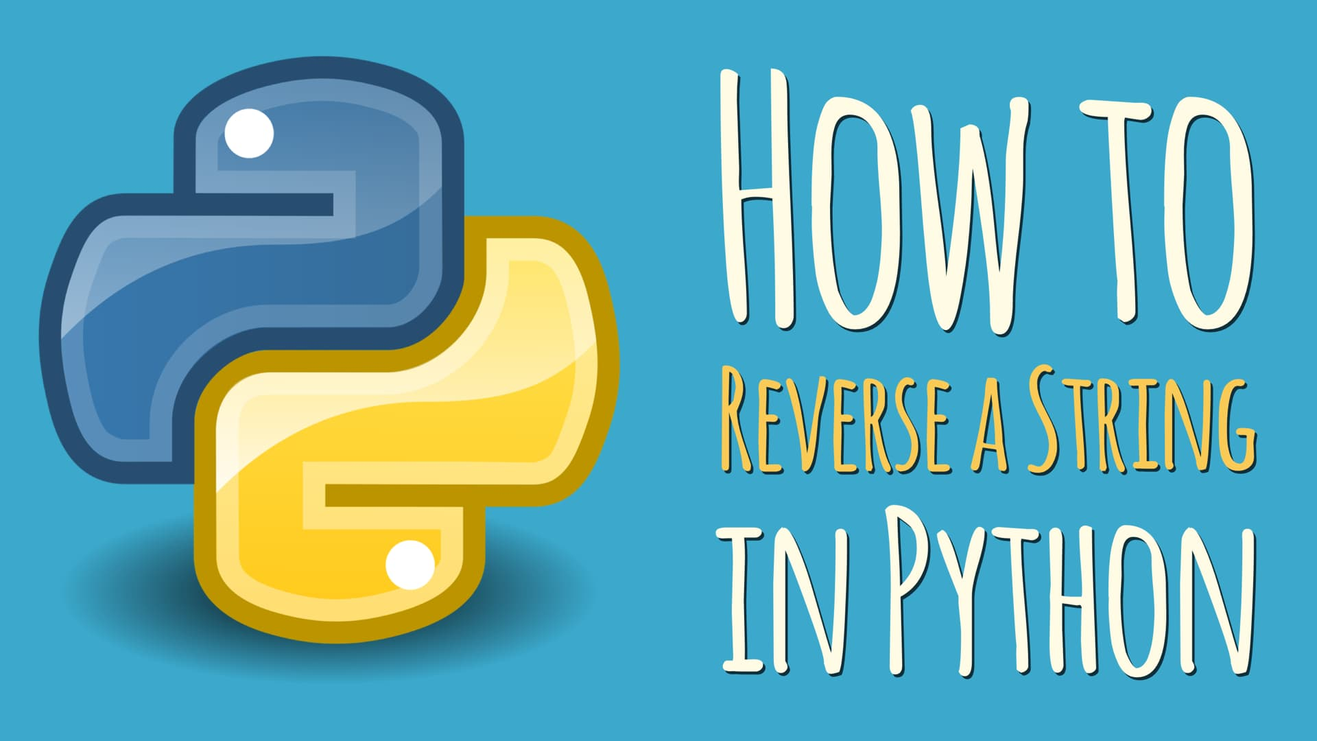 How to Reverse a String in Python – dbader org