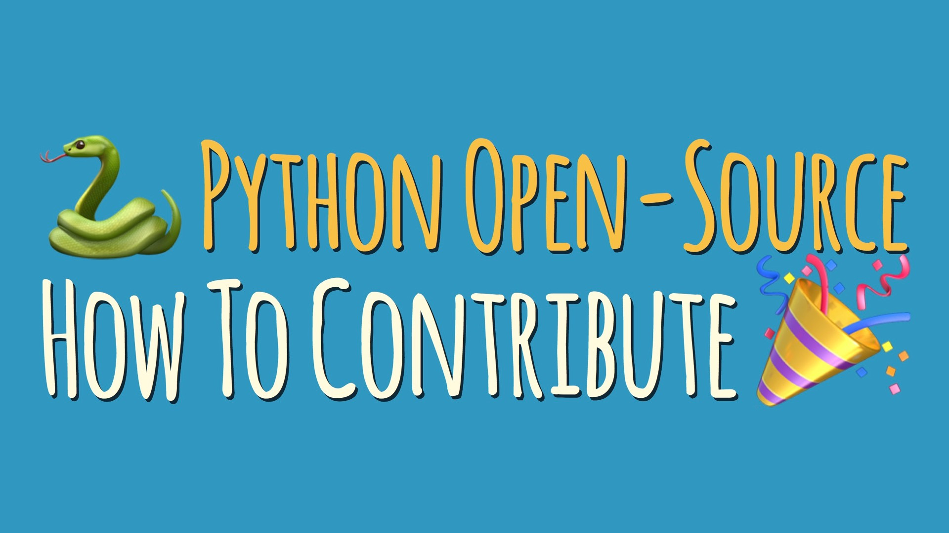 Contributing to Python Open-Source Projects