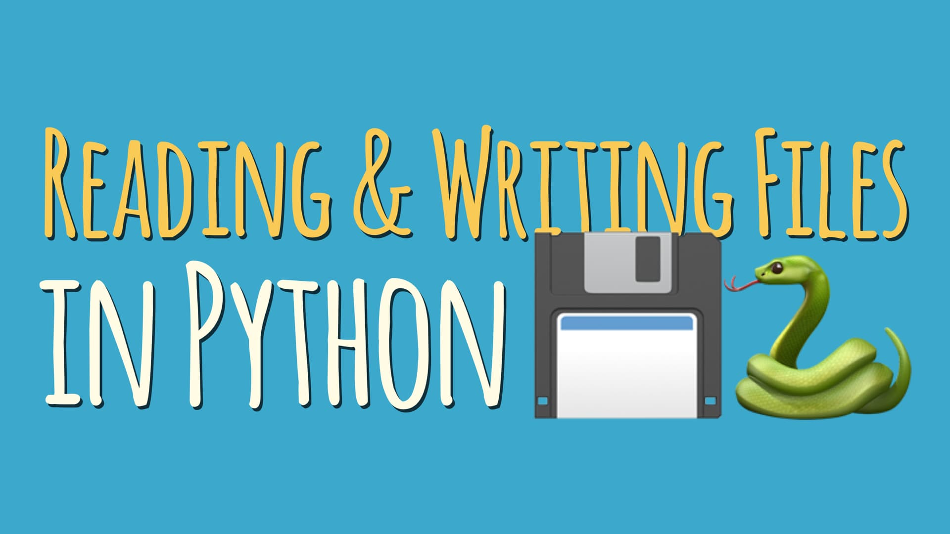 Working With File I/O in Python