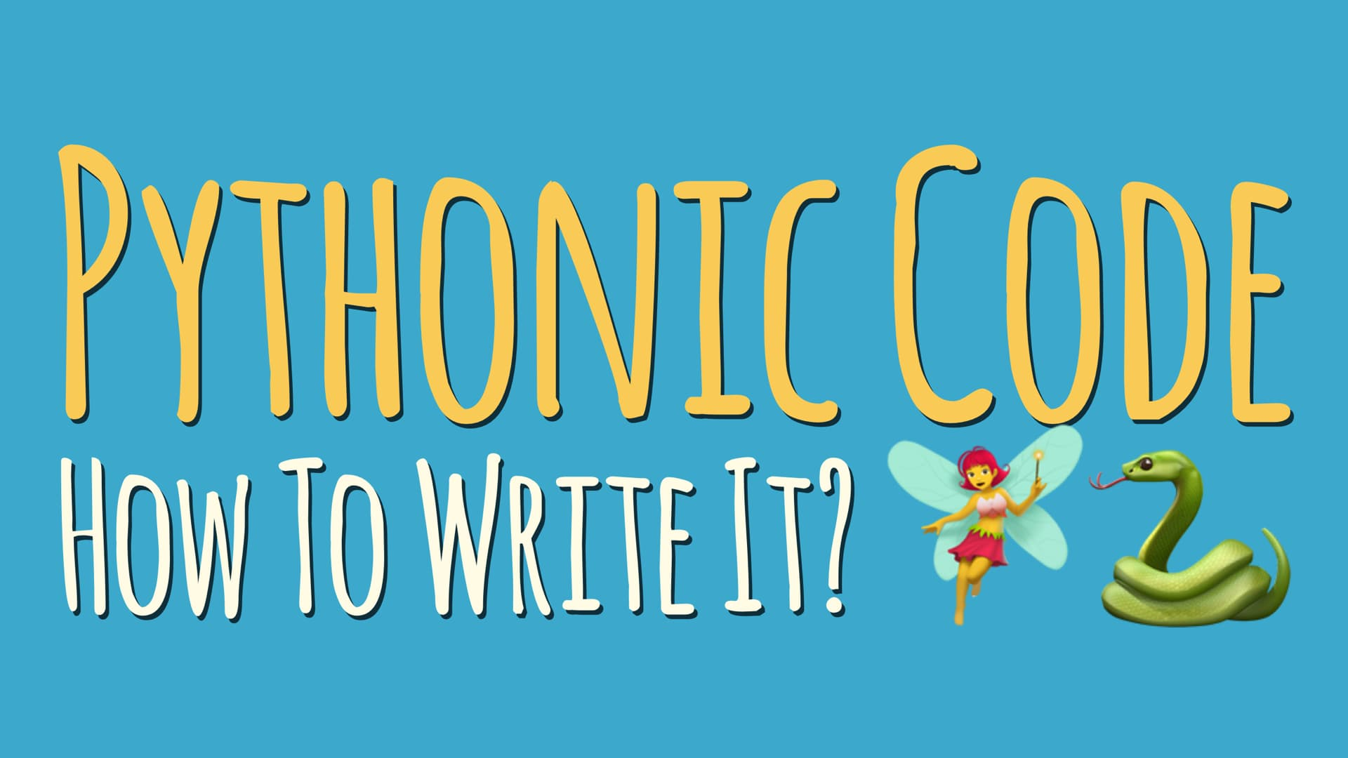 Write More Pythonic Code by Applying the Things You Already