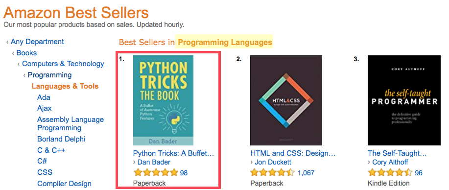 Python Tricks: The Book Launch FAQ – dbader org