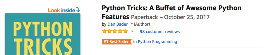 Announcing Python Tricks: The Book! – dbader org