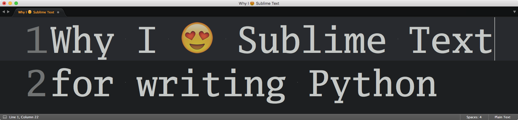 Sublime Text for Python development — My 2016 review – dbader org