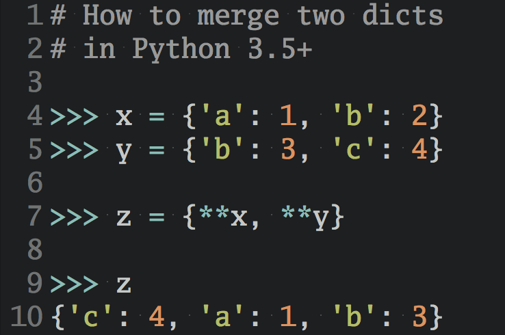 <strong><em>Improve Your Python</em></strong> with a fresh 🐍 <strong>Python Trick</strong> 💌 every couple of days