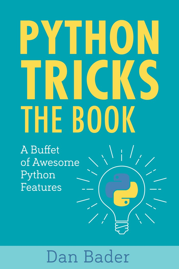 """This book makes you write better Python code!"""